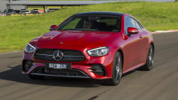 Drive Car of the Year Best Large Luxury Car 2021 finalistMercedes Benz E-Class exterior front view