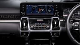 Drive 2021 Best Large SUV finalist Kia Sorento infotainment system