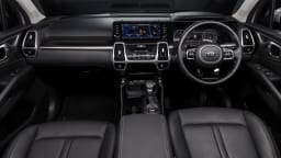 Drive Car of the Year Best Large SUV 2021 finalist Kia Sorento front interior full view