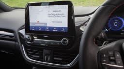 Drive Car of the Year Best Light SUV 2021 finalist Ford Puma interior infotainment system