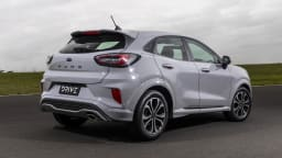 Drive Car of the Year Best Light SUV 2021 finalist Ford Puma exterior rear view