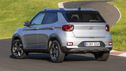 Drive Car of the Year Best Light SUV 2021 finalist Hyundai Venue rear exterior view