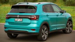 Drive Car of the Year Best Light SUV 2021 finalist Volkswagen T Cross rear exterior