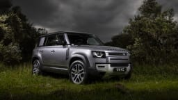 Drive Car of the Year Best Off-Road SUV 2021 finalist Land Rover Defender front exterior view