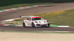 Porsche busted testing GT2 RS track car
