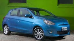 The Mitsibishi Mirage is a good city car at a budget price.