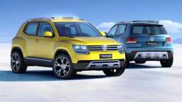 Volkswagen Taigun Concept Teases New Compact SUV