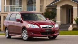2009 Subaru Exiga.