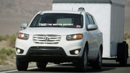 2010 Hyundai Santa Fe Spotted Testing
