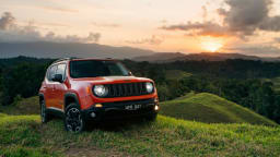 The Jeep Renegade Trailhawk is the only four-wheel drive variant in the American brand's smallest car line-up.