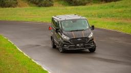 Drive 2021 Best Van finalist Ford Transit driven on road
