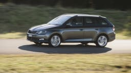 New Skoda Fabia wagon blends city car size with wagon body practicality.