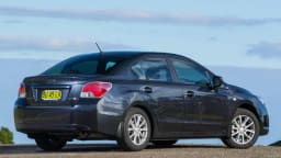 Subaru Impreza sedan.