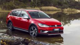 2018 Volkswagen Golf Alltrack range review