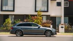 2017 Audi S4 Avant.