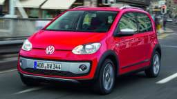 High-riding Volkswagen Up Crosses From Concept To Production