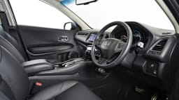 The Honda HR-V has a well-finished, pracitcal interior.