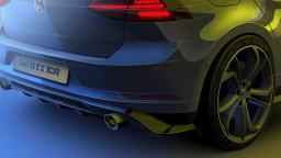 2019 VW Golf GTI TCR edition teaser