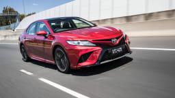 2018 Toyota Camry SX.