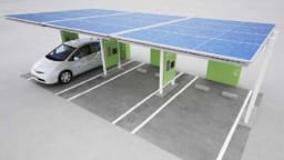 Toyota Developing Solar-Powered Recharging Station For EVs