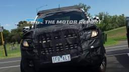2016 Holden Colorado 7 Update Spied Testing - Exclusive