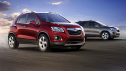 Holden Trax Revealed Further In New Chevrolet Images