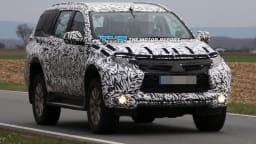 New Mitsubishi Challenger Spied Testing