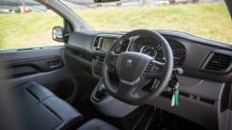 Drive 2021 Best Van finalist Peugeot Expert 6 driver seat view
