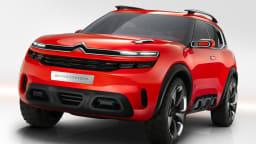 Citroen Aircross Concept Revealed Ahead Of Shanghai Debut