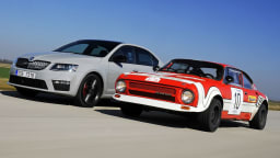 Skoda Celebrates Forty Years Of The RS