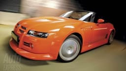 MG SV Revived... As A Soft Top?