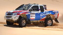 Garland Ready For Dakar Return In 2012 Isuzu D-MAX Racer