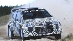 Hyundai Motorsport Tests i20 WRC In Preparation For 2014 Season