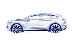 2019 Volkswagen Tiguan sketch.