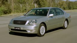2000 Lexus LS430.