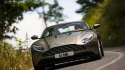 Aston Martin DB11 Launch.  Siena, Italy.   July 2016. Photo: Drew Gibson    2017 Aston Martin DB11.