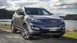 Used examples of the Hyundai Santa Fe will still benefit from a few years of the brand's factory warranty.