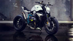 BMW Concept Roadster Motorcycle Unveiled At Concorso d'Eleganza