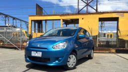 2015 Mitsubishi Mirage ES Review - Left Behind By Better Rivals