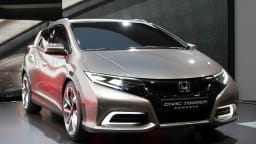 Honda Civic Tourer Wagon Concept Unveiled In Geneva