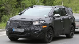2015 Ford Edge Spied Testing: Territory Replacement Incoming