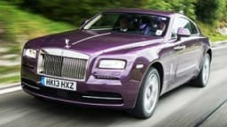 Rolls-Royce Wraith first drive review