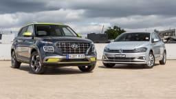 2020 Volkswagen Polo Style 85TSI v Hyundai Venue Elite