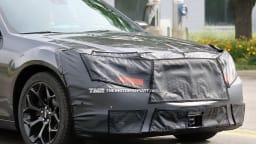 2015 Chrysler 300 Update Spied Testing