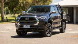 2021 Toyota HiLux SR5 Cab Chassis