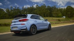 2018 Hyundai i30 N Performance Package.