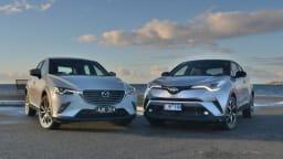 Big End of Small Town - Mazda CX-3 v Toyota CH-R Comparison Test