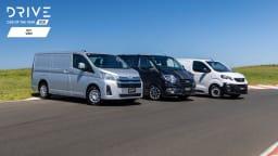 Drive Best Van 2021 finalists group photo