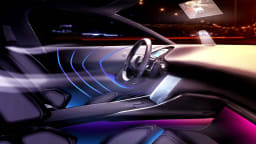 Peugeot-Citroen Reveals 'Chrysalide' Interior Concept