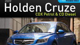 2009 Holden Cruze CDX Petrol And Cruze CD Diesel Road Test Review